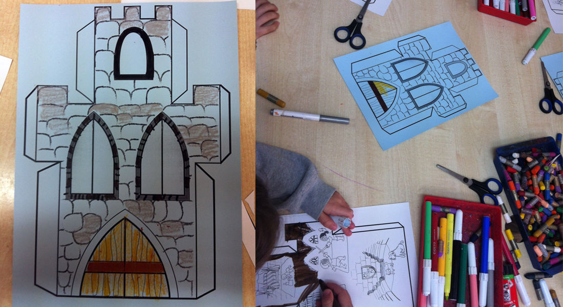 Miscosasdeclase manualidades divertidas que les encanta - Manualidades castillo medieval ...